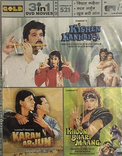 Amazon in: Buy Kishen Kanhaiya / Karan Arjun / Khoon Bhari / Maang