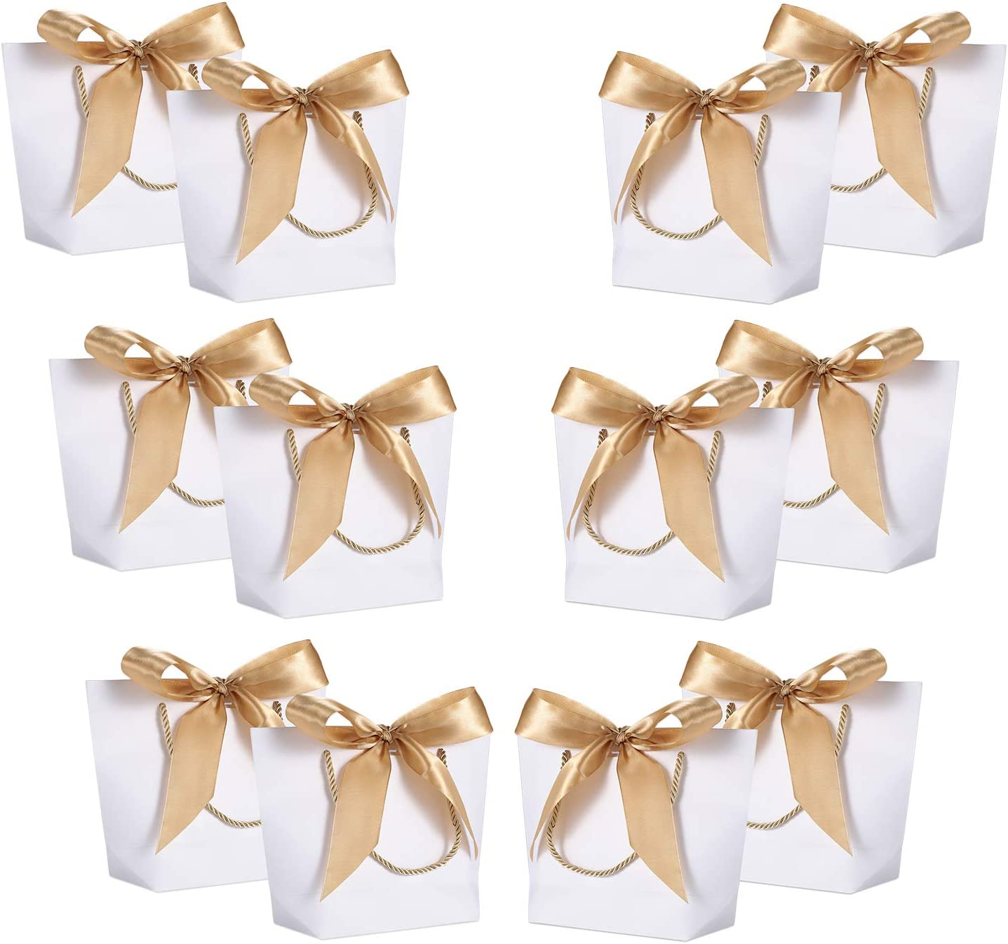 WantGor Gift Bags with Handles .66x6.3x2.76 Paper Party