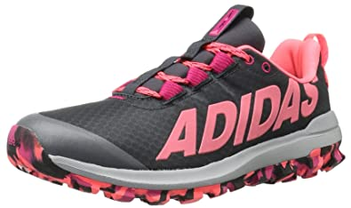 adidas Performance Women's Vigor 6 Women's Trail Running Shoe,  Grey/Pink/Pink,