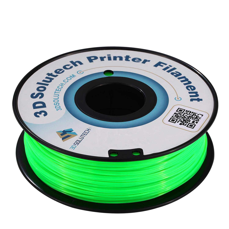 1.0KG 2.2 LBS 3D Solutech See Through Dark Green 3D Printer PLA Filament 1.75MM Filament