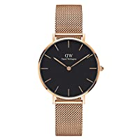 Unisex Adult Analogue Japanese Quartz Watch with Stainless Steel Strap