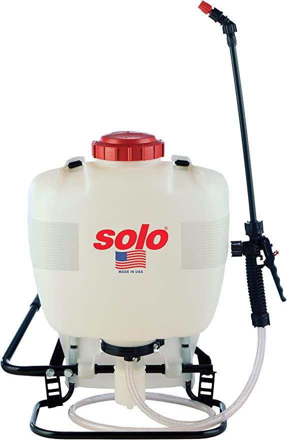 Solo 425 4-Gallon Professional Piston Backpack Sprayer - Best for Versatility