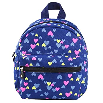 aadae12edd SLL Kids Small Backpack Baby Girls Toddler Child Nursery Girl Mini School  Bags Travel Backpacks Book bag Blue
