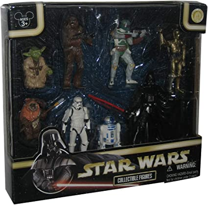 Disney-Exclusive-Star-Wars-Collectible-Figures-Set-The Empire Strikes Back