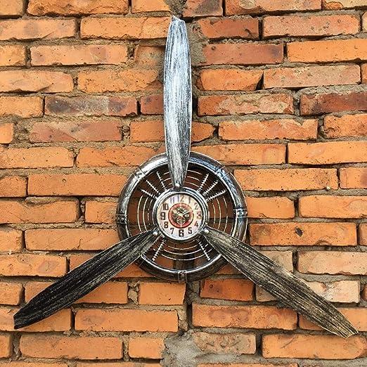 Amazon.com: Retro Indust Airplane Propeller Real Iron Wall Clock
