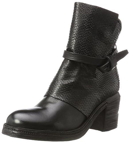 A.S.98 Ankle, Bottines Femme, Schwarz (Nero), 38 EU