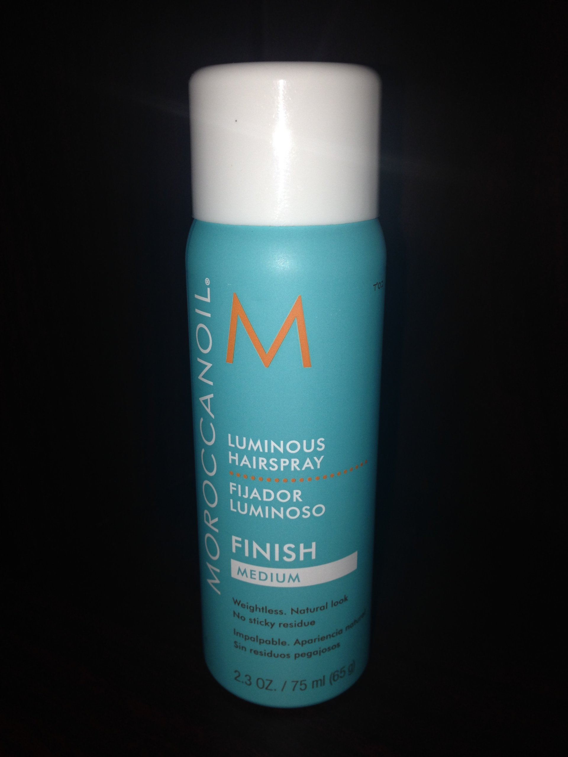Moroccan Oil Luminous Hairspray Medium, 2.3 Ounce