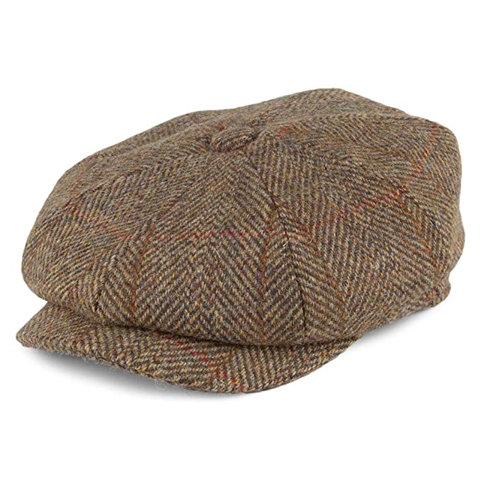 Failsworth Gorra Newsboy Carloway Tweed Harris de Lana Turba - 61 ...