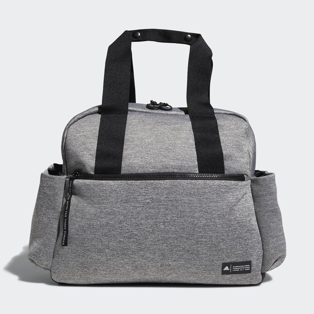 adidas Sport to Street Premium Tote Bag, Jersey Knit Grey/Black, One Size