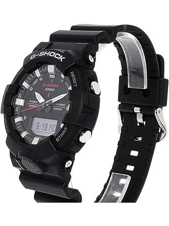 Casio G-Shock Mens Analog Digital GA800-1A Watch Black: Amazon.es: Ropa y accesorios