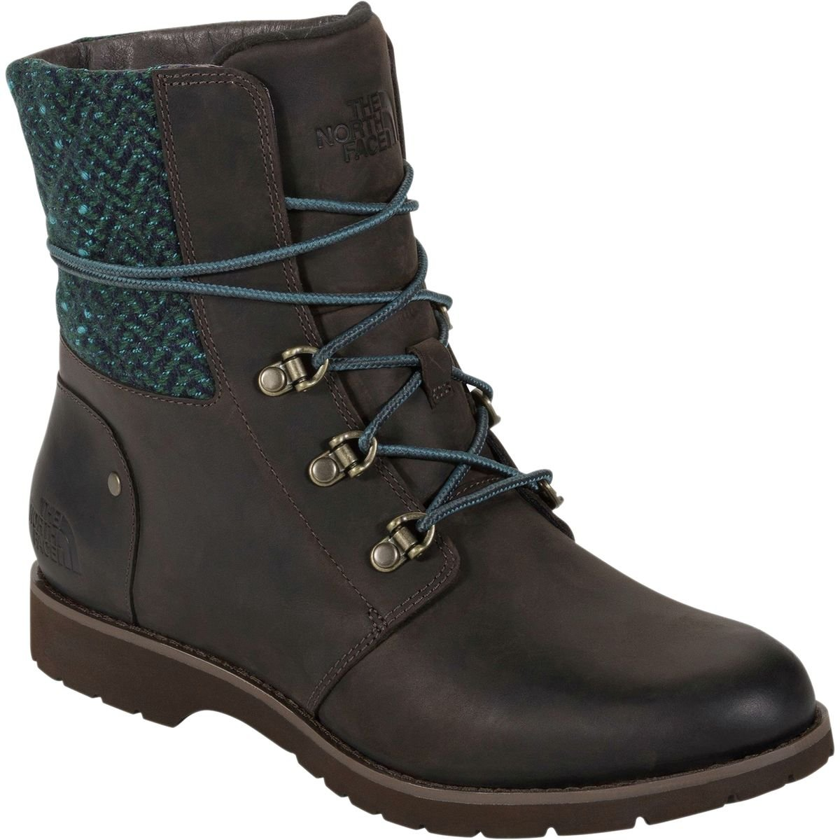 The North Face Women's Ballard Lace Up Boot B00RW5DVPW 10.5 B(M) US|Coffee Brown/Blue Green/Tweed (Prior Season)