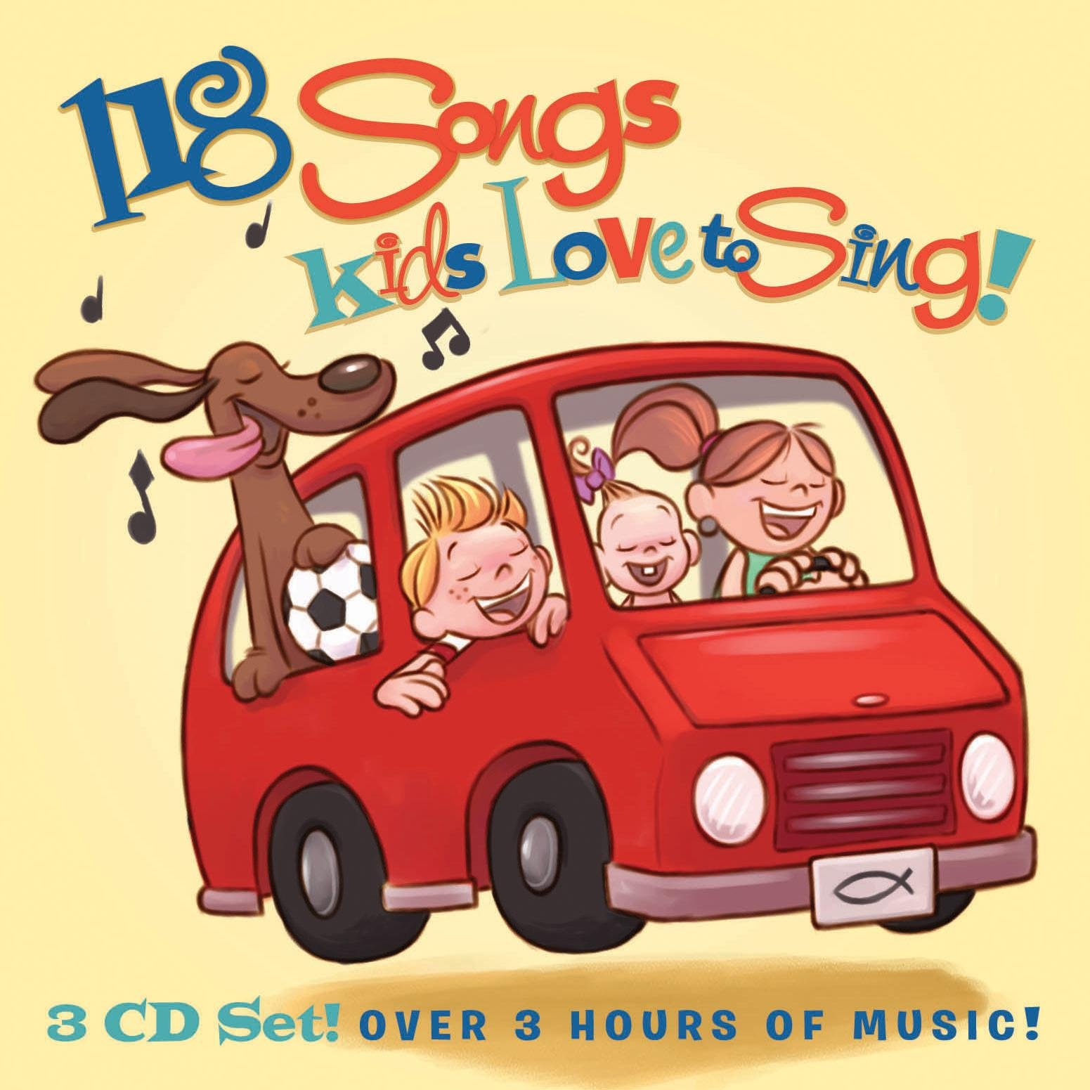 118 Songs Kids Love to Sing by Capitol Christian Distribution