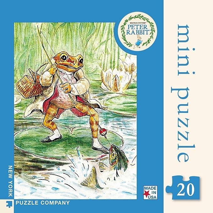 20 Piece Jigsaw Puzzle New York Puzzle Company Flower Fairies Columbine Fairy Mini