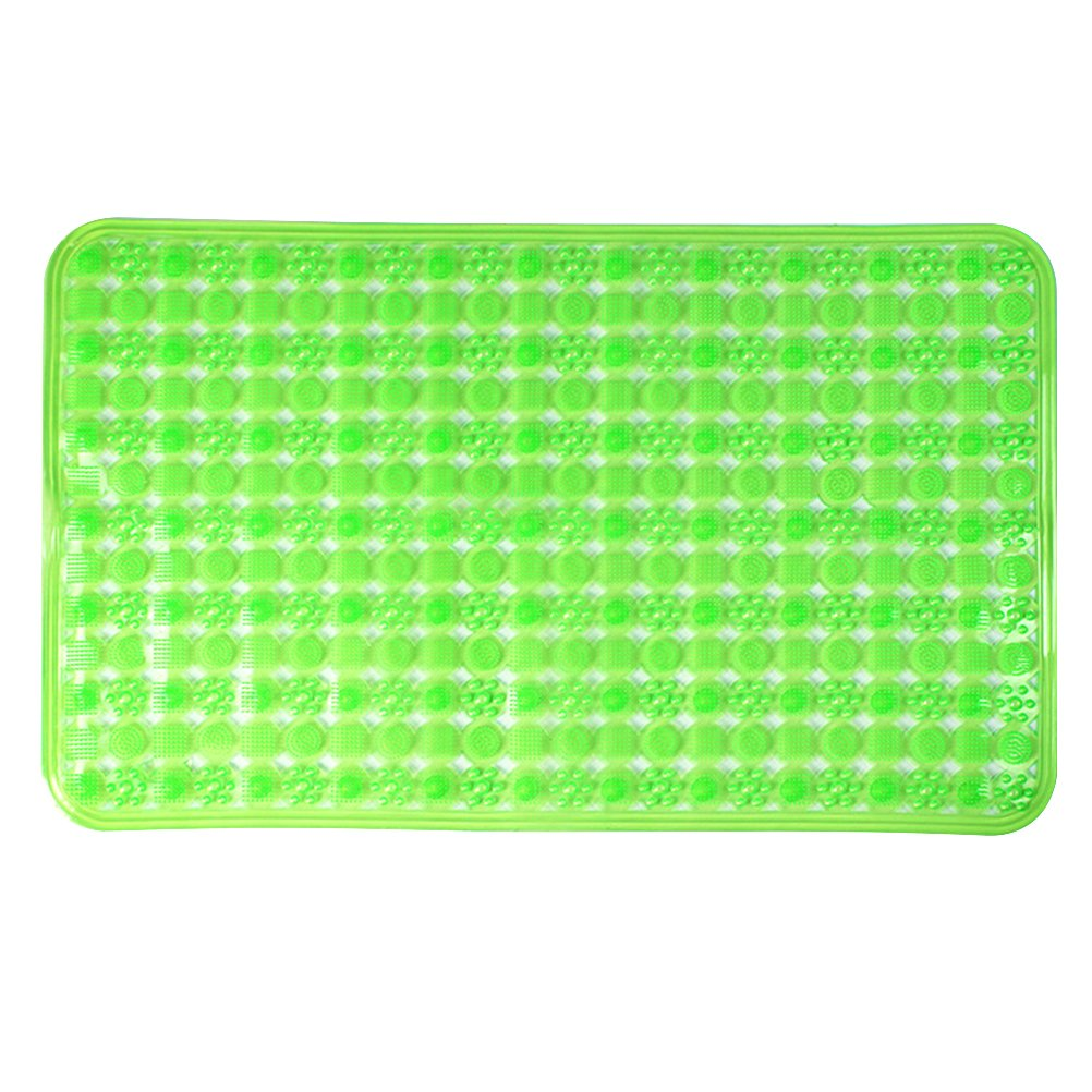 OUNONA Antirutsch Badematte Duschmatte für Badewanne und Dusche 50 x 80 cm (Hellgrün)