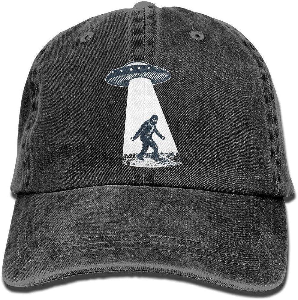 YISHOW Bigfoot I Believe Men's Great Baseball Cap Trucker Style Hat Casual Cap