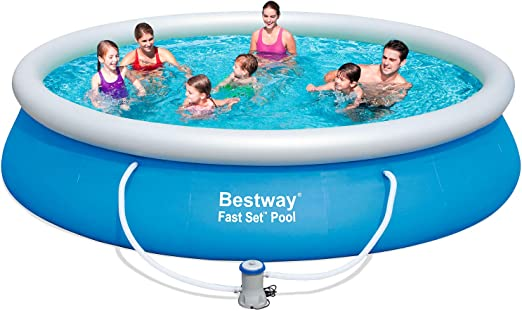 Bestway 57245 - Piscina Desmontable Autoportante Fast Set 427x91 ...