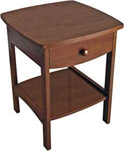Winsome Wood Claire Accent Table, Natural