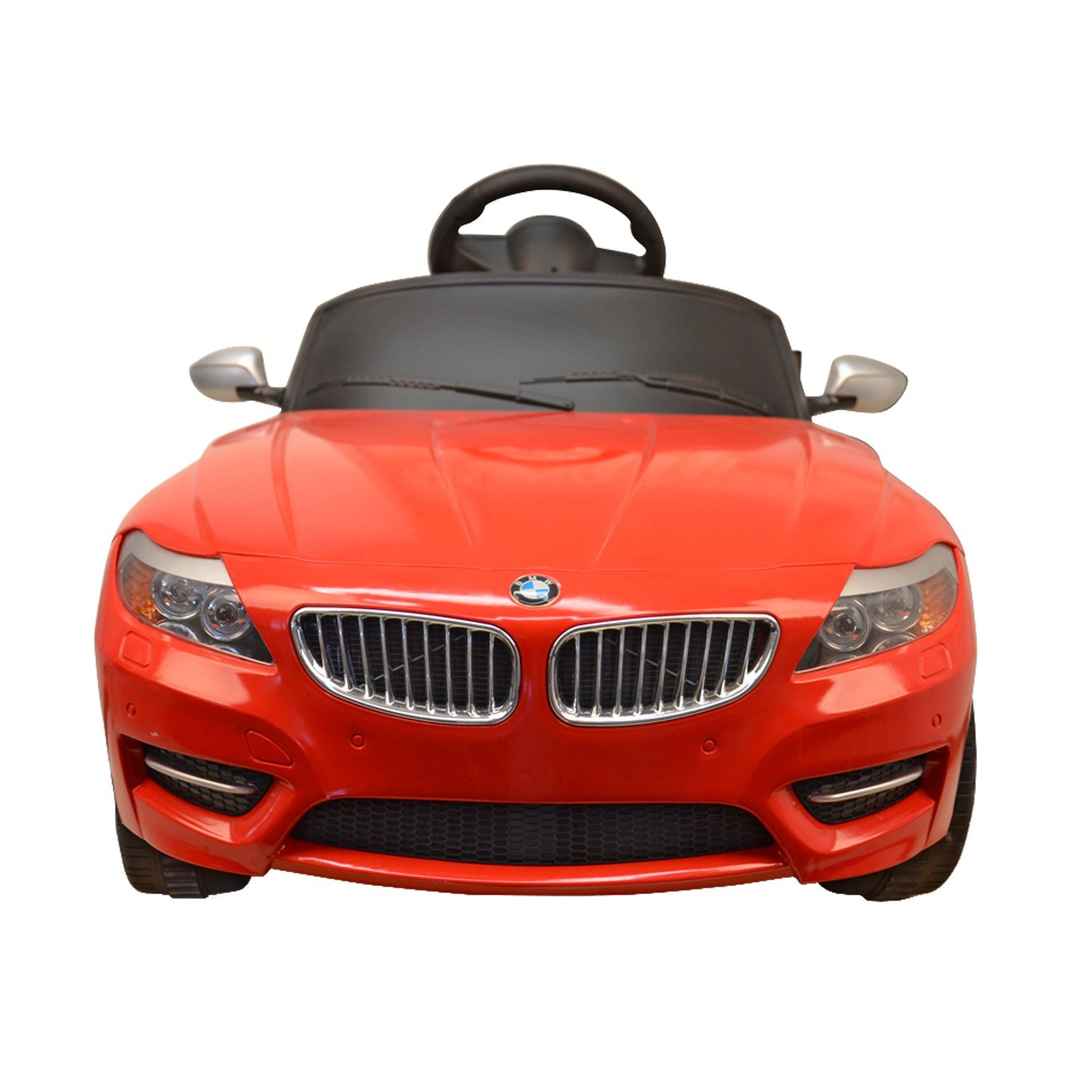 Amazon.com: BMW Z4 Kids 6v Electric Ride On Toy Car w/ Parent Remote  Control - Red: Toys & Games