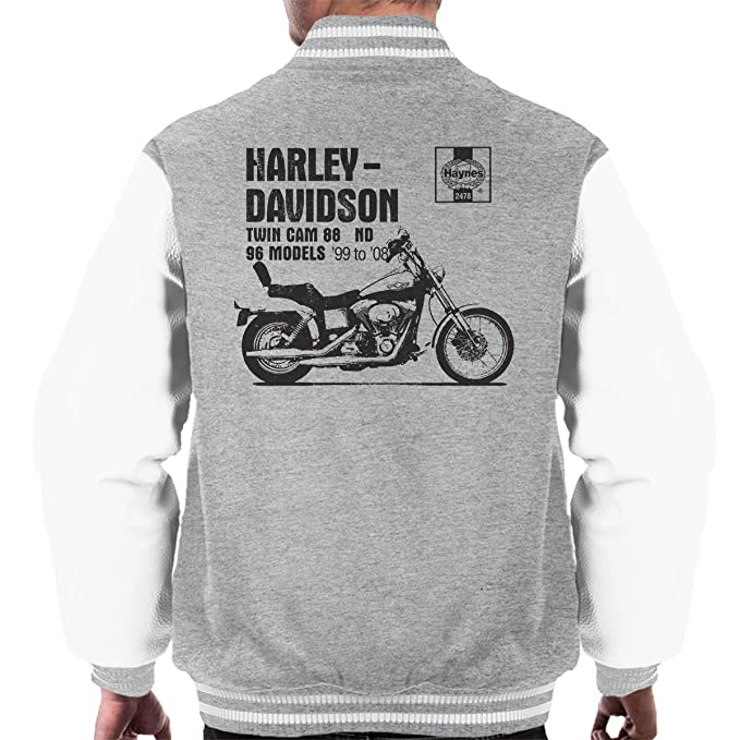 POD66 Haynes Owners Workshop Manual 2478 Harley Twin CAM 88 ND Mens Varsity Jacket