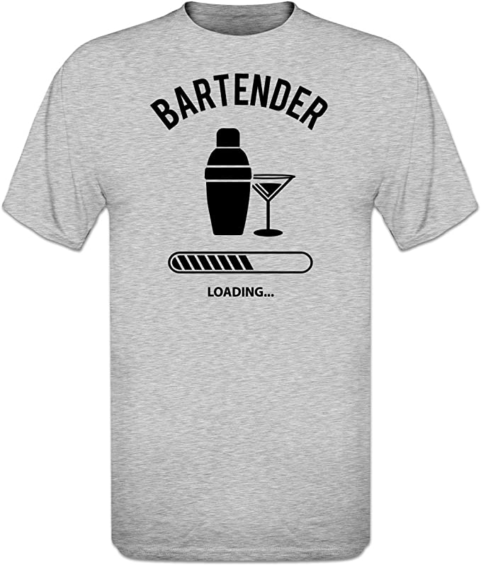 Shirtcity Camiseta de Mujer Bartender Loading by: Amazon.es