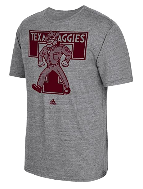 9431efe0fd61 Amazon.com   Texas A M Aggies Adidas Grey Vintage Logo T Shirt ...