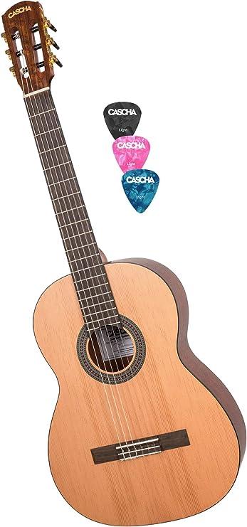 Schöne 3//4 Kindergitarre mit Zubehör top für den Einstieg in die Welt der Musik