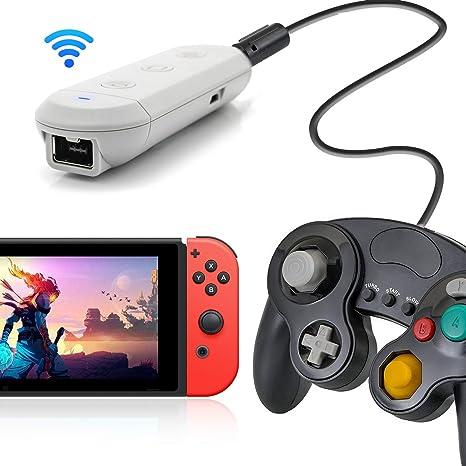 Adaptador inalámbrico para Nintendo Switch, compatible con Nintendo Switch y PC, funciona con GameCube Controller, Classic Edition Controller, Wii Classic Controllers: Amazon.es: Industria, empresas y ciencia