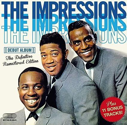 Amazon   The Impressions Debut Album + 11(import)   Impressions   R&B   音楽