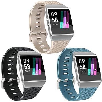 Vancle - Bandas Deportivas compatibles con Fitbit Ionic Smartwatch ...