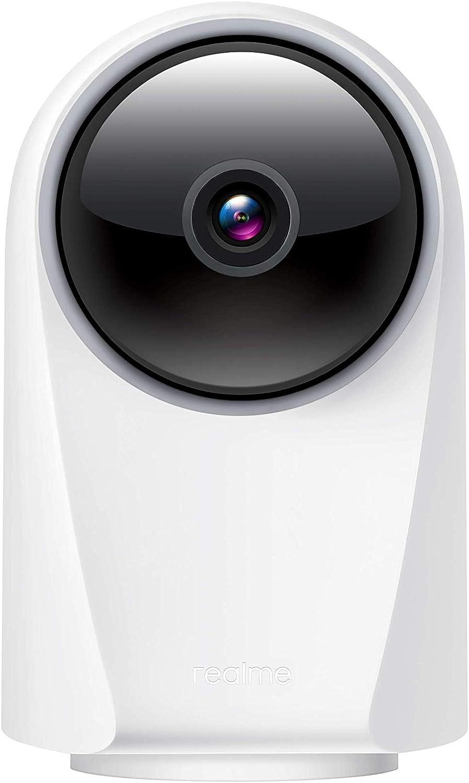Realme Smart 360 Camera 1080p Security Camera Wifi Infrared Night Vision 360 Degree Panoramic White Baumarkt