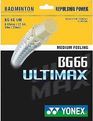 Yonex BG 66 — Best Badminton string for aggressive smash hitting