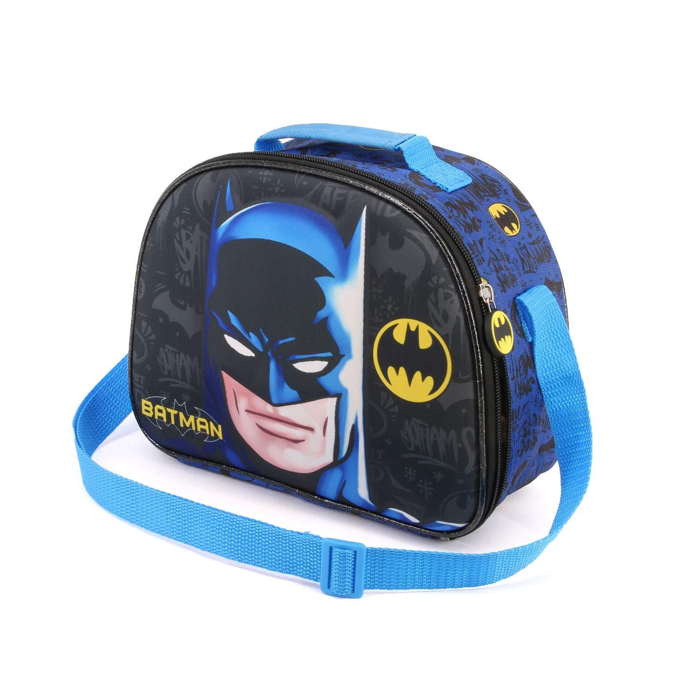 Karactermania Batman Knight-3D Lunch Bag School Bag, 26 cm, Multicolour