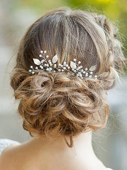 8e5624e7 handmadejewelrylady novia Vintage boda partido Crystal Rhinestone pelo  pasadores cabello accesorios mujeres accesorio para la cabeza (Pack de 3)