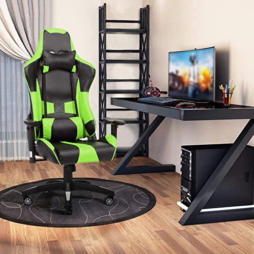 Cheap PC Gaming Chair Racing Office Computer Desk Chair Ergonomic High Back PU Leather Swivel Chair 180 Degree Adjustable computer gaming chair for sale