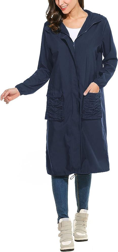 Trudge - Abrigo Impermeable - para Mujer