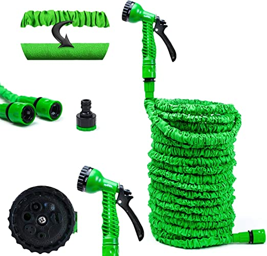 GRAFNER® Flexible Manguera de jardín 15 Metros Manguera Agua Manguera: Amazon.es: Jardín