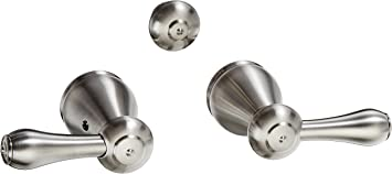 Delta Faucet H278SS Leland Two Metal Lever Handle Kit Stainless