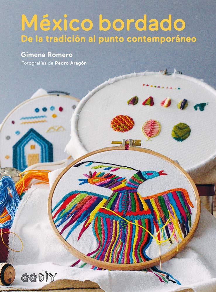 libro: México bordado: De la tradición al punto