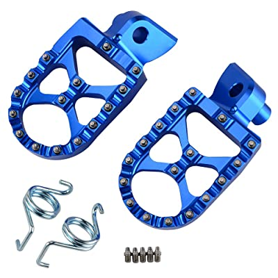 NICECNC Racing Foot Pegs Footpegs WIDE FAT for WR250F YZ250F 2001-2020 WR450F YZ450F 2003-2020 YZ250X YZ450FX 2016-2020 YZ85 2002-2020 YZ125 97-2020 YZ250 98-2020 YZ125X 2020-2020 YZ250FX 2015-2020: Automotive