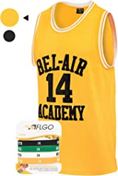 64f66b42cc92 AFLGO Fresh Prince of Bel Air  14 Basketball Jersey S-XXXL – 90 s Clothing