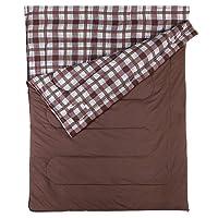 Coleman Sleeping Bag Hampton, Rectangular Sleeping Bag, Indoor & Outdoor, 3 Season, Extra Long, Warm Filling, for Adults