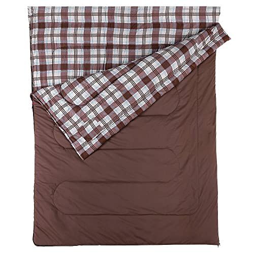 Coleman Sleeping Bag Hampton, Rectangular Sleeping Bag, Indoor & Outdoor, 3 Season, Extra Long, Warm Filling, for Adults