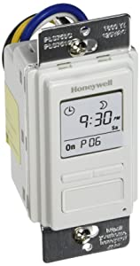 Honeywell PLS750C1000 Timer Switch with Sunrise Sunset Single or 3 Way