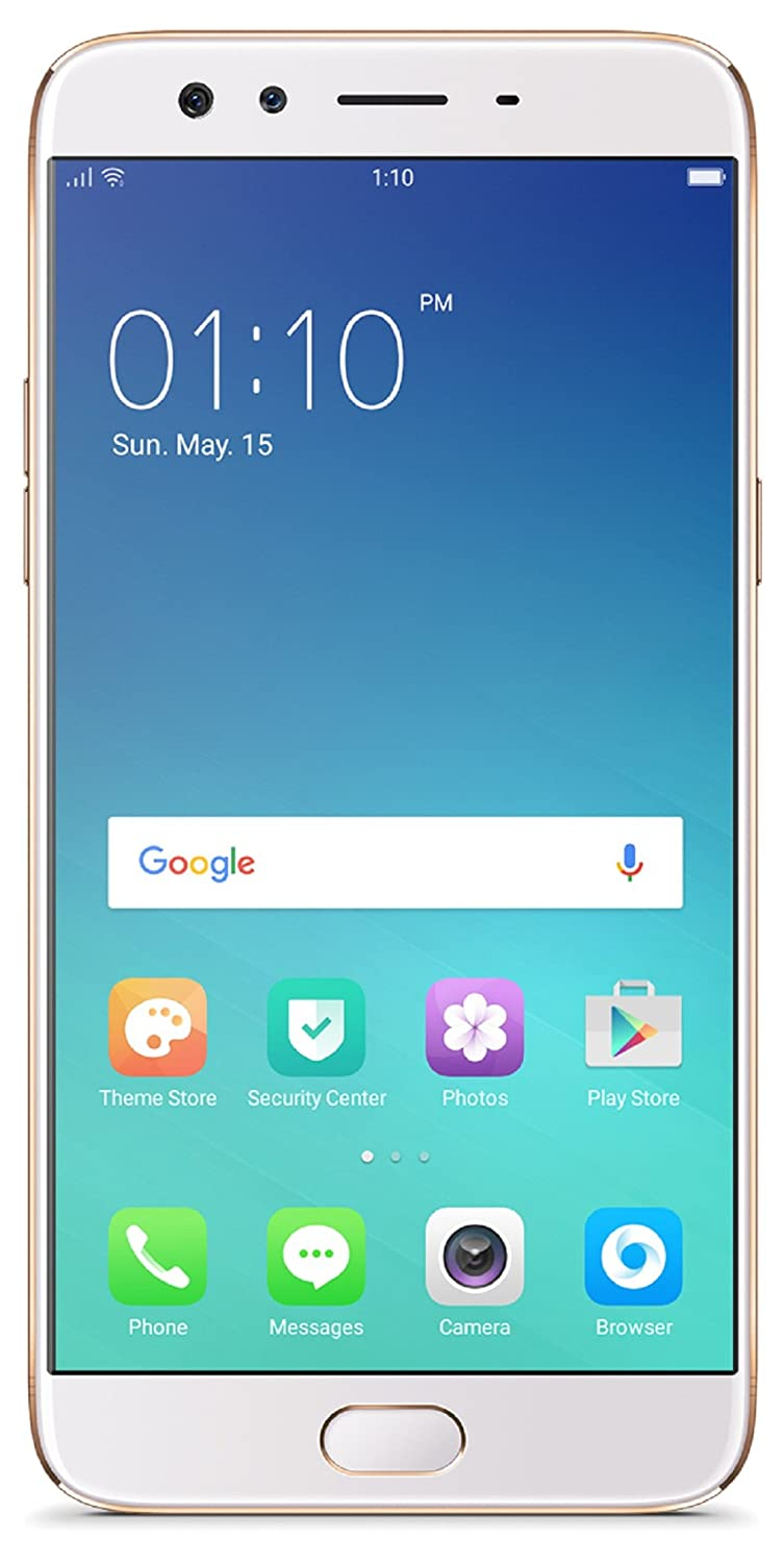 Oppo F3 Plus Cph1613 4 Gb Ram Gold 64gb Without Offers Motorola W230 Silver Free Memory Card 1gb Electronics