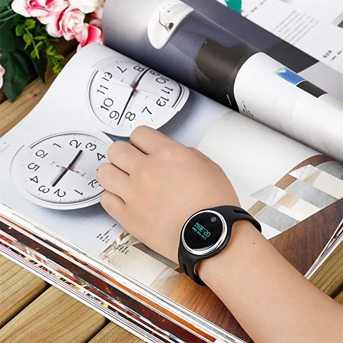 Smartwatch, impermeable E07 Bluetooth 4.0 Smart pulsera ...