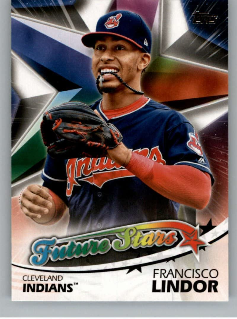 2016 Topps #439 Francisco Lindor NM-MT Indians Future Star