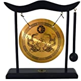 Zen Art Brass Feng Shui Desktop Gong H1303