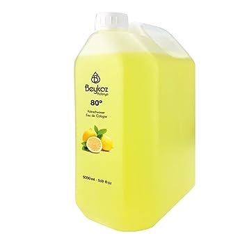 beykoz Lemon Cologne Real Agua de colonia kolonya: Amazon.es: Salud y cuidado personal