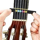 juconiromusic chitarre Noten–Adesivo per il tagliere con manico incluso Gratis e Book per principianti e, Nero