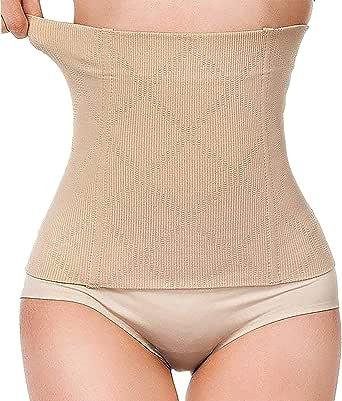 Postnatal - Cinturón abdominal y faja de cintura 2 en 1, diseño multifuncional, moldeador de cintura, elástico, soporte para moldear la figura, cinturón postparto